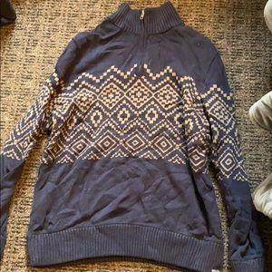 Eddie Bauer quarter zip sweater
